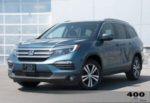 2016 Honda Pilot EX-L **LEATHER**AWD**DVD**NAVIGATION**SUNROOF**
