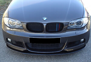 Echt Carbon Schwert BMW 1er E82 / E88 für M-Paket  / NEU / RIEGER-Tuning