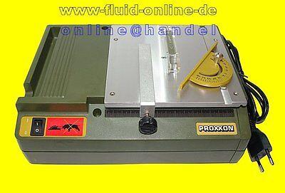 PROXXON 27006 Tischkreissäge KS 230 KS230 Kreissäge Holz Kunststoff Platinen NEU