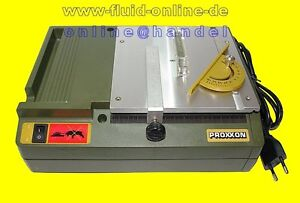 PROXXON 27006 Tischkreissäge KS230 speziell für den Modellbau Holz Platinen NEU
