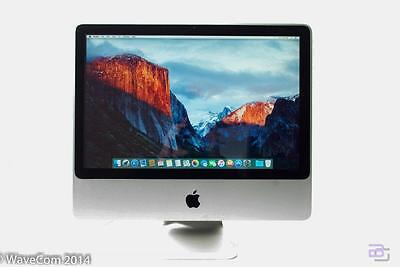 "Apple iMac 20"" 2.0GHz Intel Core 2 Duo 2GB Ram 10.11 El Capitan MC015LL/B A1224"
