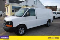2010 Chevrolet Express Fully Loaded No windows Sivider Shelves A
