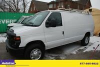 2011 Ford E-250 DIVIDER,ROOF RACK,NO WINDOWS,TRAILER HITCH,TCS