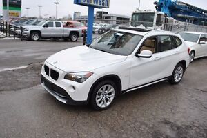 2012 BMW X1 AWD | PANO ROOF | 2 SETS OF TIRES !