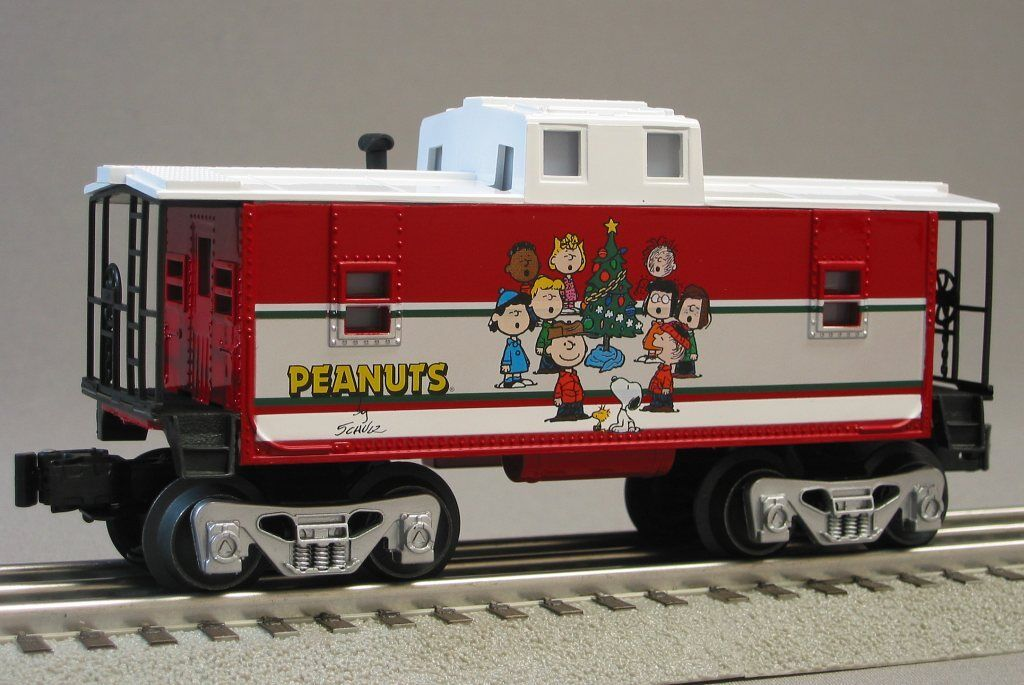 Lionel Peanuts Christmas Caboose Train O Gauge Shultz Snoopy Lucy 6-30193c