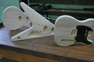 DIY-PROJECT-ELECTRIC-GUITAR-BUILDER-KIT-YOU-PICK-TELE-FLYING-V-LP-STYLES
