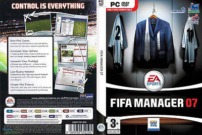 Fifa Manager 07 (pc Dvd Game) Brand & Factory Sealed, Soccer Management