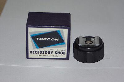 Topcon Super Dm D Re Accessory Flash Hot Shoe Adapter In Original Box