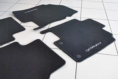 Nissan Qashqai +2 (7 SEAT) Luxury Velour Floor 6 Mats Genuine New KE755EY001