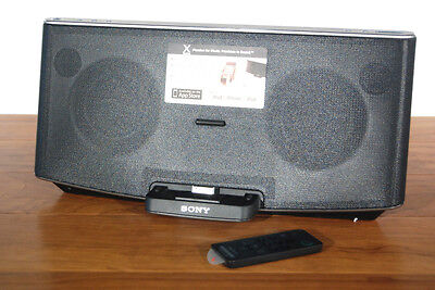 Sony RDP-X200iP Wireless Dock iPad/iPod/iPhone 40-Watt Speaker System Bass Boost on Rummage