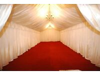 MOONLIGHT MARQUEE HIRE - MARQUEES FOR ALL OCCASIONS - FRIENDLY SERVICE - INTERIOR LINING DESIGNS