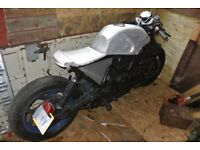BMW K100 cafe racer project may swap