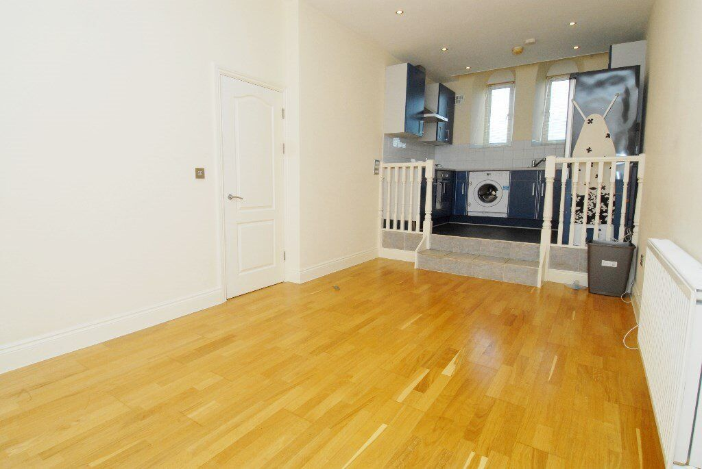 One bedroom in converted church, Burrage Rd, Woolwich SE18 7HH