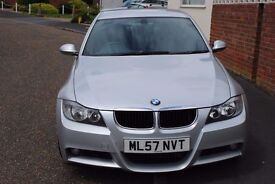 2007 BMW 320 M SPORT SALOON DIESEL AUTO FULL HISTORY AND MOT ONLY £3995 SORRY NOW SOLD