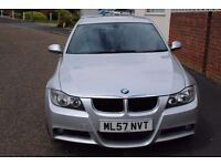 2007 BMW 320 M SPORT SALOON DIESEL AUTO FULL HISTORY AND MOT ONLY £3995