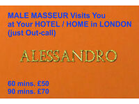 MALE MASSEUR offers OUT-CALL MASSAGE at Your HOTEL/HOME (GAY FRIENDLY MASSAGE) Only OUT-CALL London