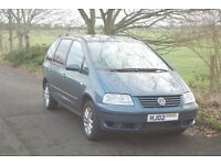 Seven seater VW £995