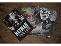 three batman camics/graphic novels, good condition