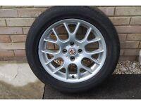 MG Z / Rover Alloy Spare Wheel & Tyre