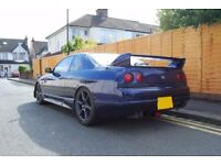 Nissan Skyline R33 GTS 1996, Blue, Clean Example, Drift, Turbo, Japan IMPORT