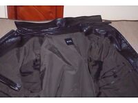 Hugo Boss leather jacket mens for sale