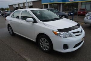 2013 Toyota Corolla CE/ENHANCED PKG/AC/BLUETOOTH/HEATED SEAT/NEW