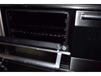 Britannia Range Gas double oven SILVER great condition