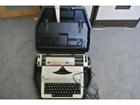 Olympia International Electric Typewriter Made in Western Germany-with Case