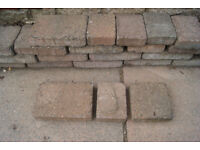 Block Paving - approx 2 cubic metres plus £30
