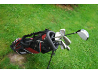 Fazer Contender Series II Golf Clubs and Masters Stand Bag