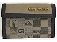 Men's Quiksilver Wallet - Khaki Green and Black