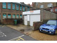 Workshop to let, Littlehampton town centre, rear of 35 Beach Road, Littlehampton