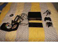 Xbox 360 Elite 120gb HDD and 40 GAMES!!!!