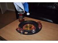 Premier Housewares Roulette Lucky Shot Drinking Game - 6 Glass