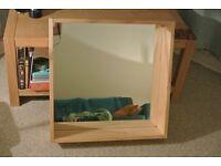 Mirror (Wooden, Ikea)