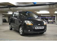 IMMACULATE Chevrolet Matiz 1.0 - 2009 59 - Black - 5 Door - FSH - Full MOT - Manual - Petrol - A/C