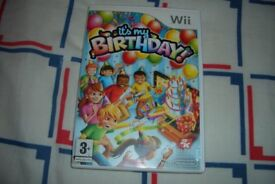 It's My Birthday - Nintendo Wii Boxed Complete