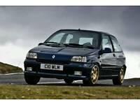 WANTED RENAULT CLIO WILLIAMS