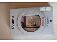 Canon IXUS II camera