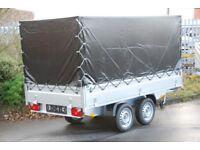 Box trailer 3m x 1.5m twin axle 750kg