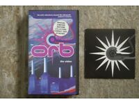 The Orb - Adventures Beyond The Ultraworld (Patterns & Textures) VHS with CD
