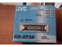 JVC car stereo - still boxed