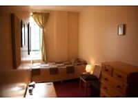 Single bedroom in pleasant Leith flat to rent for 3-months. Rent inc. bills