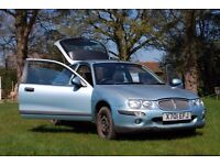 REDUCED Rover 25 -- Petrol 1.4 -- Perfect First Car Cheap to Insure -- 1 year MOT -- AUX in, MP3