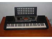 Yamaha PSR 350 Piano Keyboard with MIDI and sequencer built in