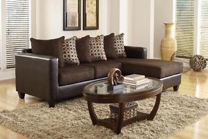 Sectionnel brun - Livraison Gratuite - Fabriqué États-Unis