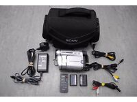 Sony HandyCam CCD-TRV238E Hi-8 Video Camera Recorder with Carry-case Plus Wires £110
