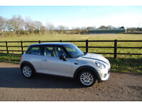 Silver Mini Cooper D, 1.5 Diesel, Chili Pack, Cruise Control, Climate Control, Leather, Service Pack
