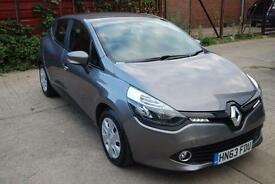 RENAULT CLIO 0.9 TCE 90 ECO Expression+ Energy 5dr (grey) 2013
