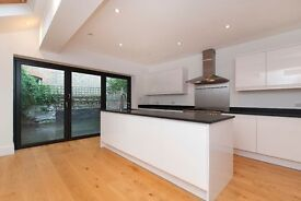 Immaculate five double bedroom family house to rent in Putney, offered unfurnished